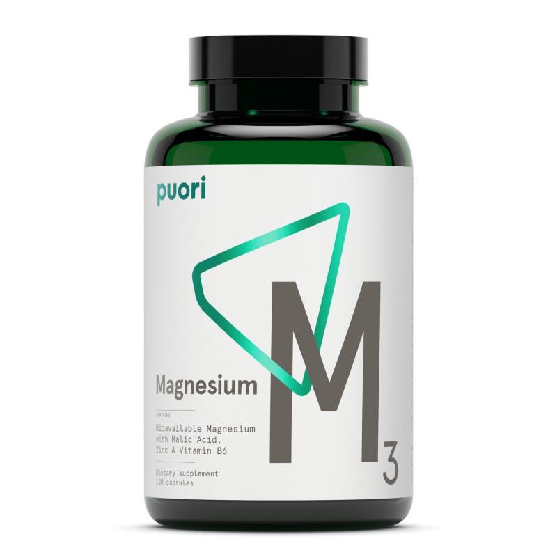Puori M3 Magnesio Vegano Biodisponible Puori - 1