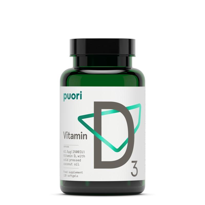 Puori D3 - Vitamina D (2500 UI) Puori - 1